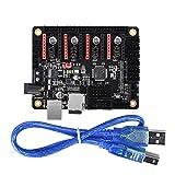 KINGPRINT SKR mini Controller-Platine für 3D-Drucker kompatibel mit12864LCD / Support A4988 / 8825 / TMC2208 / TMC2100 Treiber (Gleichstromkopf)