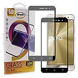 Guran [2 Paquete Protector de Pantalla para ASUS Zenfone 3 ZE520KL Smartphone Cobertura Completa Protección 9H Dureza Alta Definicion Vidrio Templado Película - Negro