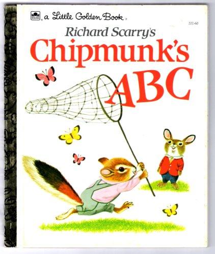 Richard Scarry's Chipmunk's ABCの詳細を見る