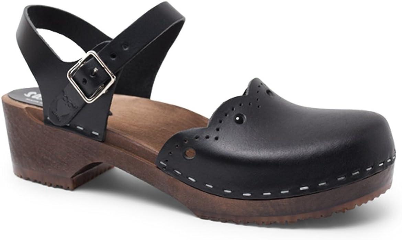 Sandgrens Swedish Handmade shipfree Wooden Clog Milan Special sale item Sandal