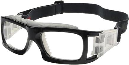 df90be5c94 VORCOOL Lunettes de sport Lunettes de sport à verres transparents Lunettes  de protection résistant aux chocs