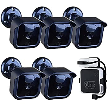 Blink Outdoor Camera Mount Bracket,5 Pack Full Weather Proof Housing/Mount with Blink Sync Module Outlet Mount for Blink XT2/XT Indoor Outdoor Cameras Security System  5 Pack