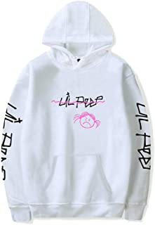 YEOU Lil Peep Hoodie Sweatshirt Unisex Hoodie Jacket Fleece Coat with Front Pocket