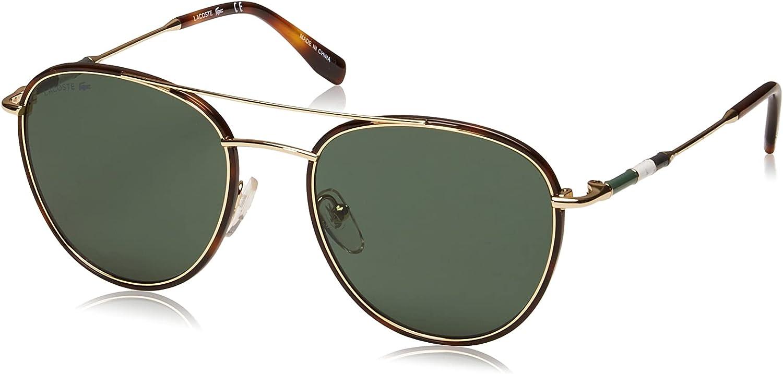 Lacoste Men's L102snd Oval Sunglasses