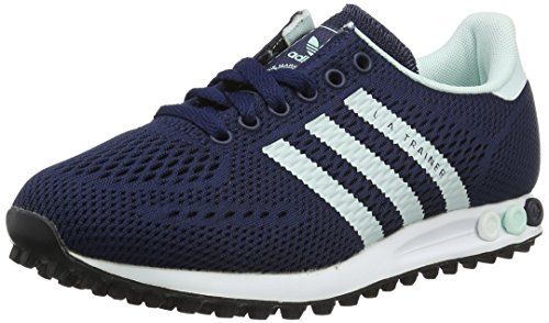 adidas Unisex-Erwachsene LA Trainer EM Low-Top, Blau (Collegiate Navy/Ice Mint/FTWR White), 37 1/3