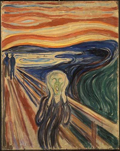 Wieco Art The Scream by Edward Munch - Reproducción