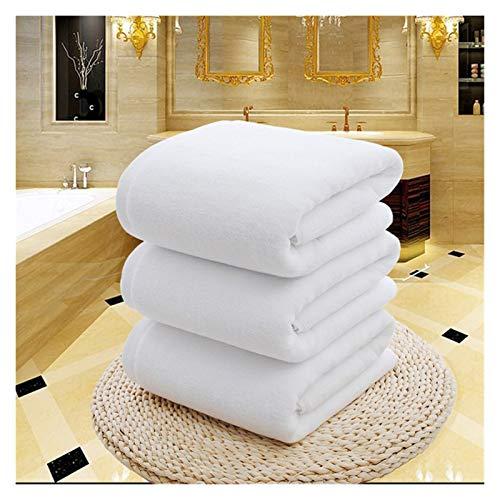 WNFYES Toallas de baño Blanco Grande baño Ducha Toalla algodón Toallas Gruesas casero baño Hotel Adultos niños badhanddoek toalha de banho Serviette de Bain Toallas