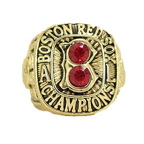 WANZIJING Béisbol Anillos de Campeonato, Boston Red Sox 1967 Americanos de la...