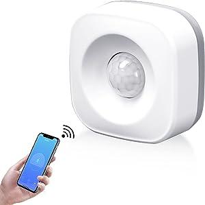 Smart ZIGBEE Motion Sensor Works with Echo Plus, Echo Studio & Echo Show 2nd Generation No Hub Required