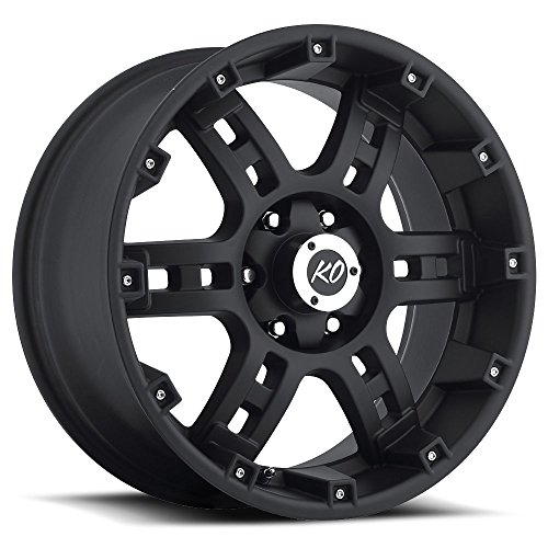 Rev Offroad 855B-2903500 20X9 6X135 / 6X139.7 0mm Offset Matte Black Wheel