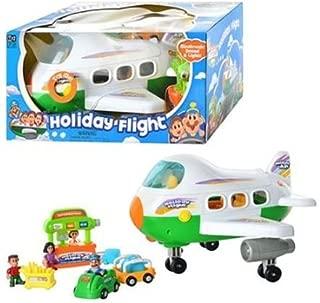 Holiday Flight Jet Plane Playset