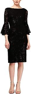 S.L. Fashions Women's Short Sequin Sheath Dress