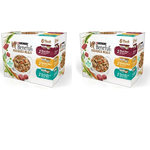Purina Beneful Prepared Meals Beef Stew, Chicken Stew, and Savory Rice...