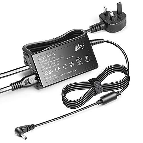 KFD 12V 3A Power Adapter for Jumper EZbook X3 S4 X4 EZbook 3 Pro 3S S4 V3 V4 Jumper EZpad 6 Pro Laptop Charger Medion Akoya S2218 2217 E2213 E2221T MD CHUWI Herobook Pro LincPlus P3 UK Mains Lead