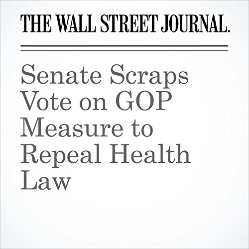 Senate Scraps Vote on GOP Measure to Repeal Health Law copertina