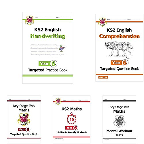 Year 6 Catch-Up Essentials: Workbook Bundle - Ages 10-11