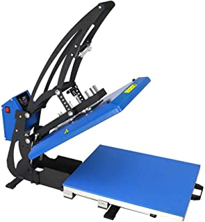 Equipo 15 'x 15' Pantalla táctil LCD Magnética automática Camiseta Máquina de prensado en Caliente para Espacios en Blanco...
