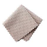 Weall Cocina Anti-grasa trapos eficiente Super absorbente microfibra paño de limpieza hogar lavado plato cocina toalla de...
