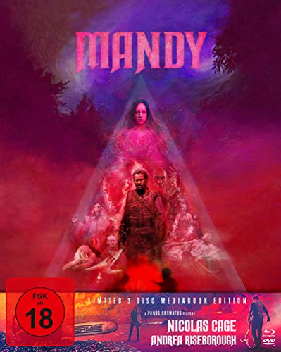 Mandy - Mediabook - Limited 3 Disc Mediabook Edition (+ DVD) (+ Bonus-DVD) - Cover A [Blu-ray]
