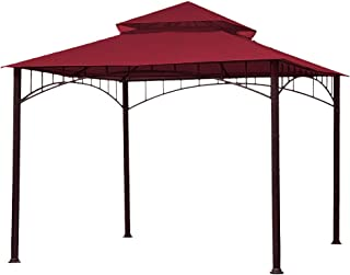 ABCCANOPY Replacement Canopy roof for Target Madaga Gazebo (Burgundy)