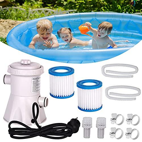 Swimming Pool Filter Pump Electric Cartridge Filter Pump for...