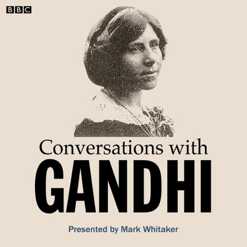 Conversations with Gandhi audiobook cover art