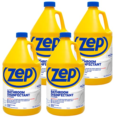 Zep All Purpose Surface Disinfectant 128 oz. Case of 4 Kills 99.9 percent of germs (ZUAPBD128)
