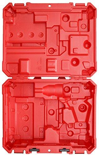 Milwaukee Estuche de herramientas solamente, compatible con taladro 2606-20 / 2607-20 / 2606-22CT / 2607-22CT M18 / Martillo taladro atornillador (no incluye herramientas/accesorios)