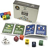 Stack 52 Quick Sweat Fitness Dice. Bodyweight Exercise Workout Game. Designed by a Military Fitness Expert. Video Instructions Included. No Equipment Needed. Burn Fat Build Muscle. (2019 Box Set)