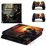TSWEET Shadow of The Tomb Raider Ps4 Stickers Playstation 4 Skin Sticker Decals For Playstation 4 Ps4 Console & Controller Skins Vinyl