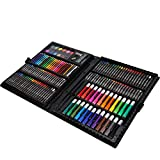 SALUTUYA Conjuntos de Dibujo artístico para Artistas, lápices de Colores y lápices de Grafito Conjunto de Suministros de Arte Conjunto de Dibujo artístico Profesional Regalo para niños Niños