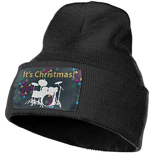 Schlagzeuger Schlagzeuger Unisex Skull Cap Winter Warme Kapuzenmütze Beanie Hat