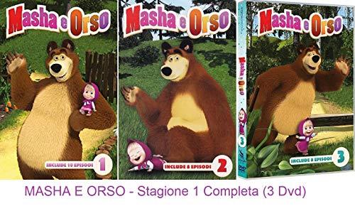 MASHA E ORSO - Stagione 1 Completa (3 Dvd)