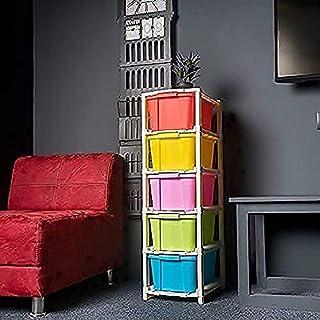 VRH ENTERPRISE Premium Plastic Multicolor Multipurpose Storage System Space Save Modular Drawer for Home Office Parlor Sch...