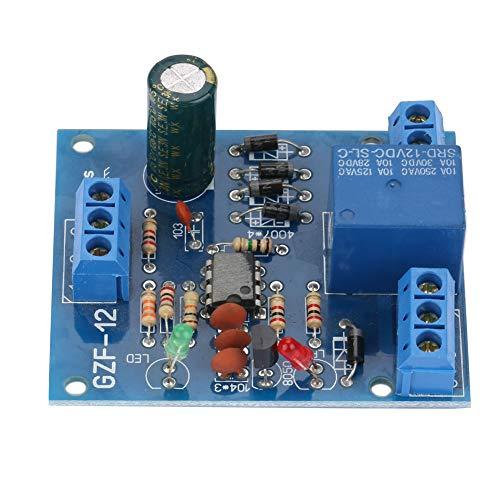Changor Módulo de Interruptor de Controlador de Nivel, con Interruptor de Controlador de Nivel de relé de Corriente de plástico de 9-12 V CC