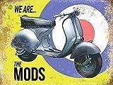 Vespa, Wir sind das Mods, Scooter, Moped auf Mod Target