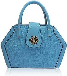 Hjyi Handbag Lady Alligator Bag Mini Handbag Satchel Shoulder Messenger Bag