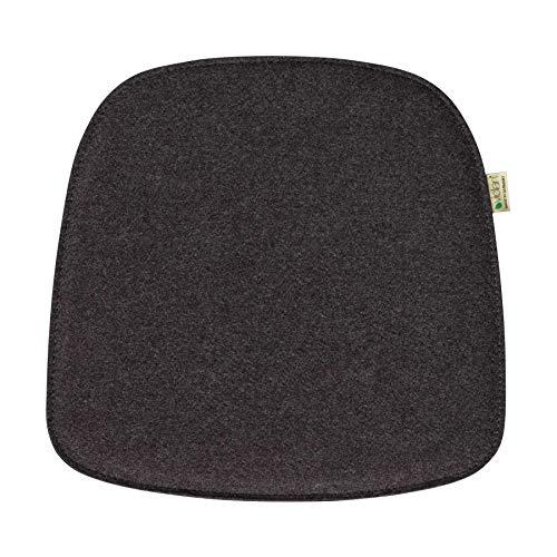 Metz Textil+Design Violan Sitzkissen für About A Chair AAC22 40 x 39 cm - Graphit