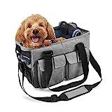 Louvra Hundetasche Hundetragetasche Hunde Transporttasche Handtasche/Umhängetasche Nylon...