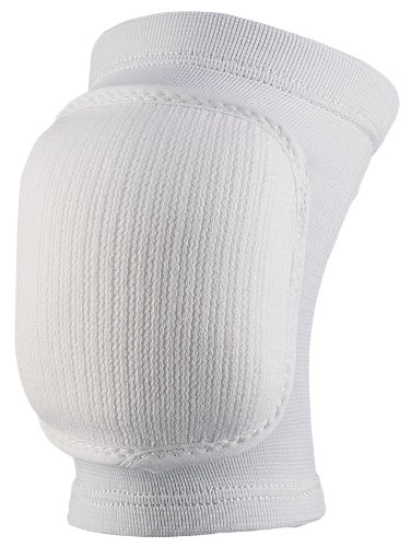 Markwort Volleyball Bubble Knee Pads, White, Adult Size
