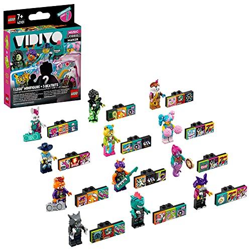 LEGO 43101 VIDIYO Bandmates Erweiterungsset mit Minifiguren, Musik Spielzeug für Kinder, Music Video Maker AR Serie 1