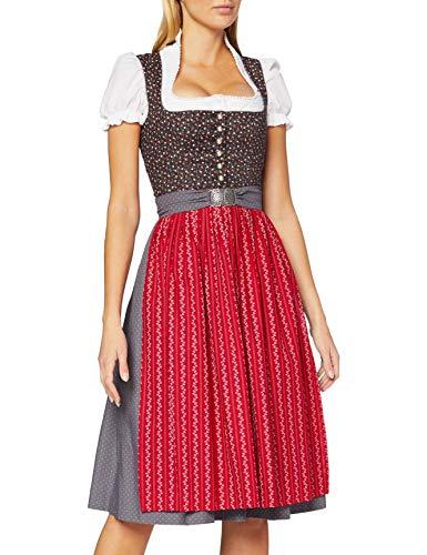 BERWIN & WOLFF TRACHT FOLKLORE LANDHAUS Damen Dirndl Kleid 806809 Größe 42