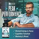 ZHOU Neuro Peak Brain Support Supplement | Memory, Focus & Clarity Formula | DMAE, Rhodiola Rosea, Bacopa Monnieri, Ginkgo Biloba & More | 30 VegCaps #2