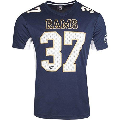 Majestic NFL LOS ANGELES RAMS Moro Mesh Jersey T-Shirt