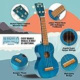 Immagine 1 kahiko ukulele c corpo blu