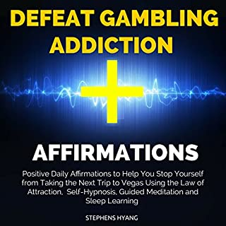 Defeat Gambling Addiction Affirmations audiobook cover art