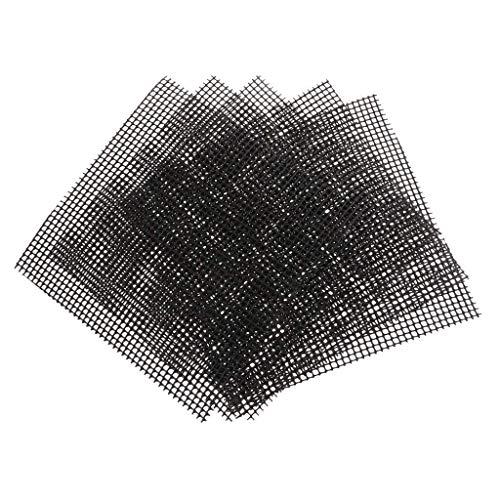 DXX-HR Pantallas Drenaje del Agujero del Acoplamiento 20 Piezas de 15 x 15 cm Tiesto Agujero del Acoplamiento del cojín Bonsai Pot Inferior Rejilla de Malla de Mat Jardín Jarrón Decorativo
