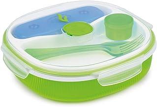 علبة حفظ طعام من سنيبس، 2 لتر، امنة للاستخدام في الميكروويف، اخضر - SN-000707