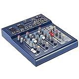 ammoon Audio Mixer Digitale Console di Missaggio USB a 3 Canali con Alimentazione 48 V per...