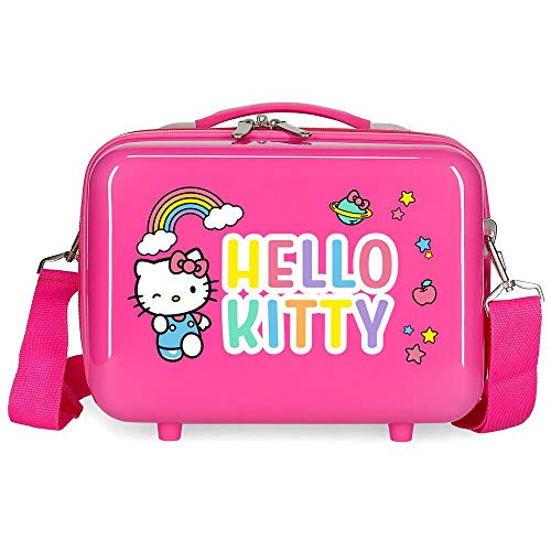 Hello Kitty You are Cute Trousse de toilette adaptable Rose 29x21x15 cms ABS